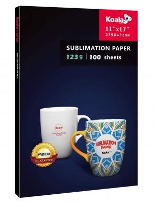 KOALA Sublimation Transfer Paper 11x17 Inch 100 Sheets 123gsm for Inkjet Printer