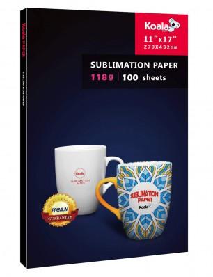 KOALA Sublimation Transfer Paper 11x17 Inch 100 Sheets 118gsm for Inkjet Printer