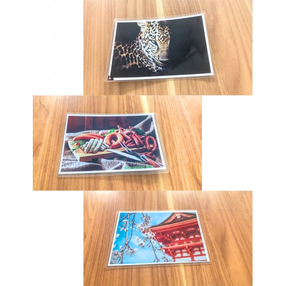 Koala Clear Thermal Laminating Pouches 3 mil / 5 mil 11.5x17.5 Inches for Seal 11x17 Inches Photos