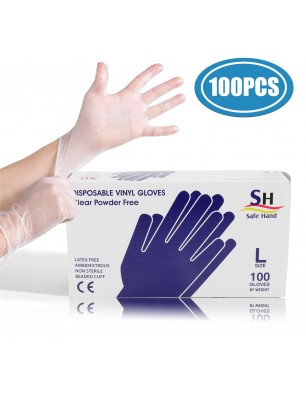 100pcs PVC Disposable Gloves