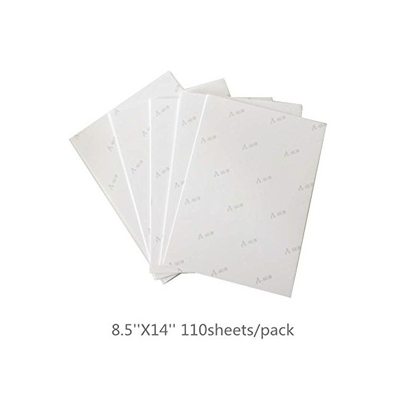 A-SUB Sublimation Paper 8.5 x 14 Inch 125gsm 110 Sheets Used For All Inkjet Printer