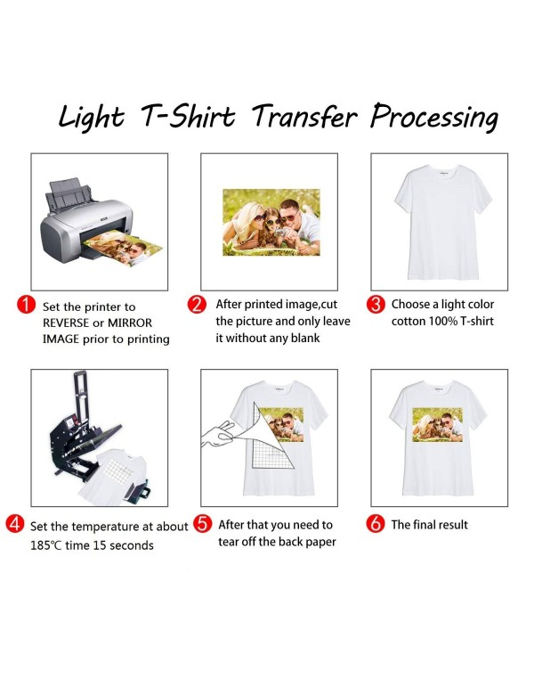 image regarding Printable Iron on Paper identified as Koala Iron-Upon Light-weight T Blouse Go Paper 8.5x11 inch