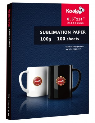 KNH Sublimation Paper 100  Sheets/Pack 8.5'' x 14''  Used For All Inkjet Printer 100gsm